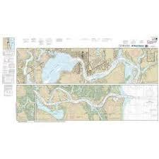 Maptech Noaa Recreational Waterproof Chart St Johns River Atlantic Ocean To Jacksonville 11491