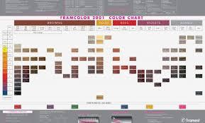 Framesi Color Chart Sbiroregon Org