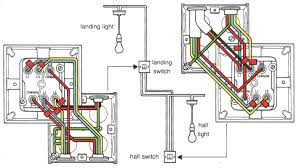 2 way wiring diagram for a light switch Wiring Diagram For Wall Lights wiring a two way light switch with double switch wiring wiring diagram for wall light switch