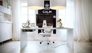 beautiful home offices workspaces design white home office design with white desk big white pendant beautiful white home office