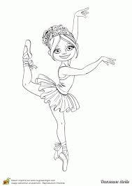 Coloriage De Danseuse Classique A Imprimer Nora Aceval Com