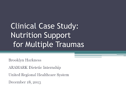 Nutrition Support Case Study   FN         Medical Nutrition       Initial