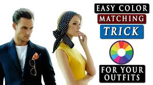 How To Match Colors In Clothes Easy Color Matching Trick