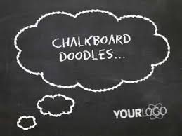 Chalkboard Ppt Theme Chalkboard Doodles A Powerpoint Template From Presentermedia Com