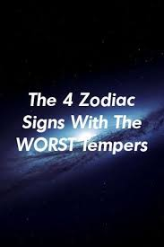 The 4 Zodiac Signs With The WORST Tempers by vinepets.gq in 2020 | Zodiac  signs, Zodiac, Signs