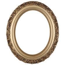 antique oval picture frames. Venice Oval Frame # 454 - Desert Gold Antique Picture Frames