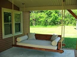 swinging bed for porch round outdoor porch bed swing for round porch swing bed bulls bay swinging bed for porch