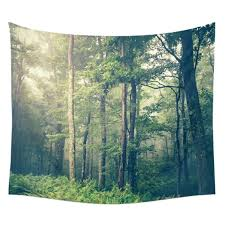 forest scenery art decor tapestry wall hanging gypsy