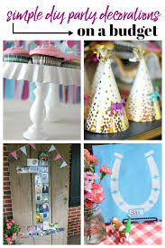 pin this post simple diy party decorations