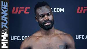 Uriah Hall full post fight interview ...