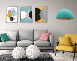 living room wall art pictures