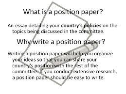 position paper position paper<br > 2