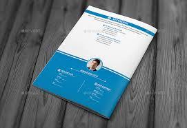 resume booklet resume booklet design _8 pages