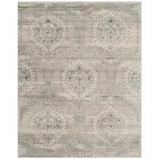 carnegie light gray cream 8 ft x 10 ft area rug