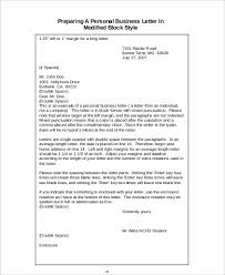 Personal Business Letter Enchanting Personal Business Letter Heartimpulsarco