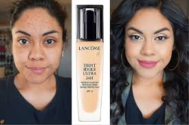 <b>Lancome</b> Teint Idole Ultra 24 Long Wear Foundation Review Oily ...