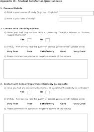 Sample Questionnaire Format For Survey Student Satisfaction Survey Template Student Satisfaction