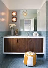 mid century modern bathroom vanity. Creative Mid Century Modern Bathroom Lighting F13 In Stylish Image Pertaining To Plan 24 Vanity