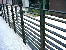 Modern metal fence design Artistic Garden Metal Fences Pictures Modern Fence Ideas Interior Design Styles And Gates Modern Metal Fence Ideas Wrought Iron Design Unepauselitterairecom Steel Fence Modern Metal Contemporary Panels Fencing Horiaco
