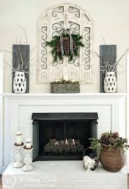 decor above fireplace home decor electric fireplace
