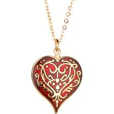 heart pendant necklace red heart pendant necklace the met