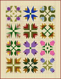 Best 25+ Flower quilts ideas on Pinterest | Log cabin quilts ... & Do you love the look of applique flowers but don't have the time? This easy  flower quilt patterns can be sewn entirely by machine. Adamdwight.com