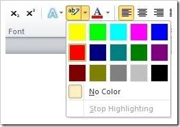 How To Select More Highlight Colors In Word The