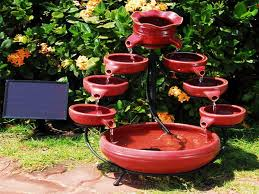 Small Picture Outdoor Fountain Design Water Garden Fountain Clever Design Ideas