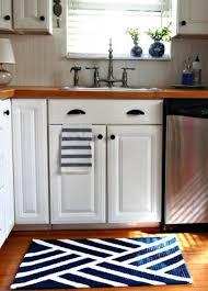 cool modern kitchen rugs black yellow rug flooring ideas