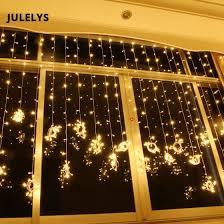 Shop <b>JULELYS 6M x</b> 2M 384 Bulbs Fairy Lights LED Curtain For ...