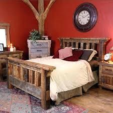 Rustic Wood Bedroom Furniture Sets Wood Bedroom Sets Well Suited Ideas  Rustic Wood Bedroom Furniture Sets
