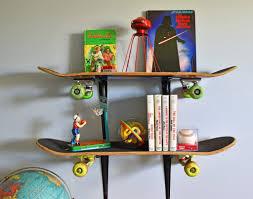 Skateboard Bedroom Skateboard Shelves For Teen Boy Bedroom Tikspor