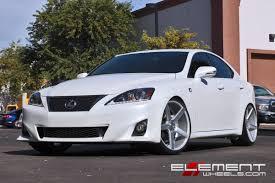 Vossen CV3 Wheels on 06 Lexus IS250 w/ Specs | Element Wheels