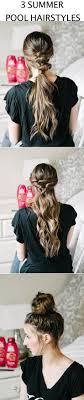Best 25 Pool Hairstyles Ideas On Pinterest Simple School