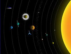 do a science fair project nasa space place drawing of the solar system
