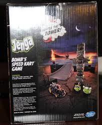 Hasbro Jenga Angry Birds Go Bomb \ 's Speed ¿¿kart Game Onl - $ 146.321 en  Mercado