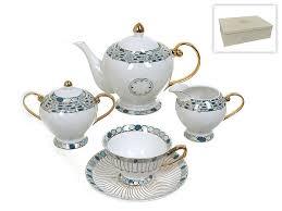 <b>Чайный</b> сервиз <b>Best Home</b> Porcelain — купить по выгодной цене ...