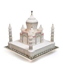 white marble taj mahal for home decor and gift purpose