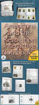 17 best ideas about causes of american revolution americans and the revolution interactive notebook