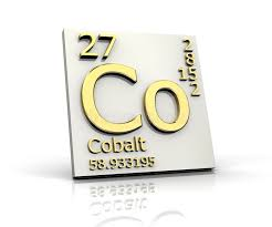 Cobalt Form Periodic Table Of Elements Stock Illustration ...