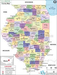 illinois county map illinois counties map of counties in illinois