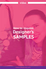 How To Be A Freelance Textile Designer Video How To Request Artists Sample Products In A