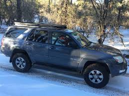 Toyota 4Runner (4th Gen) Slimline II Roof Rack Kit - by Front ...