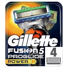Сменные кассеты для бритья <b>Gillette Fusion ProGlide Power</b> (4 шт ...