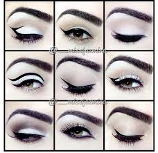 diffe winged eyeliner styles