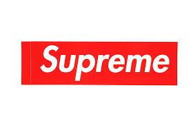 Supreme Box Logo Sticker - vacid