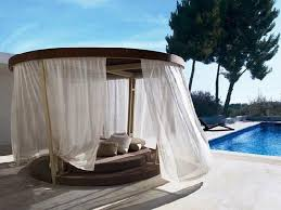 patio daybed with canopy. Simple With Day Bed With Canopy  Outdoor Daybed Wicker Lounge In Patio With D