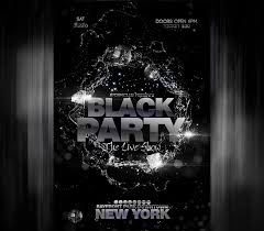 Black Flyer Backgrounds Black Party Flyer Template I Search For Free Flyers And Then