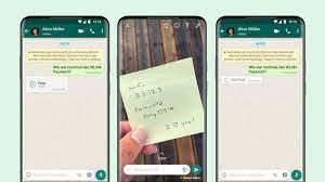 WhatsApp führt Nachrichten ein, die sich nach dem ersten Aufruf löschen -  »Einmalansicht« - DER SPIEGEL
