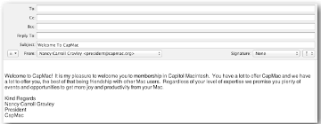 mac email templates create email templates using apple mail on your mac beginners